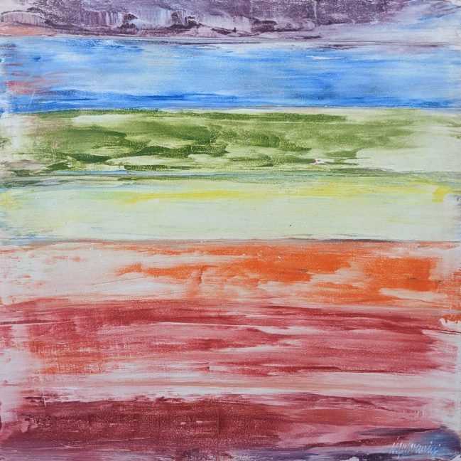 Rainbow Abstract 32 x 32