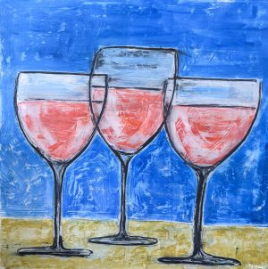 Large Wine Glasses 48 x 48