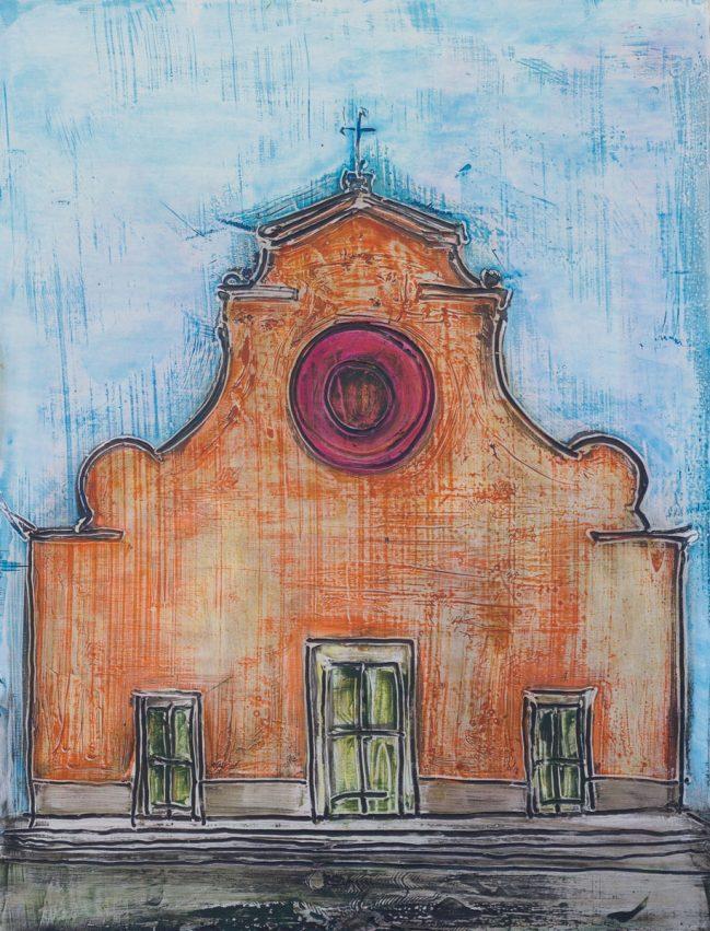 santo spirito arancio vecchio 70 x 92