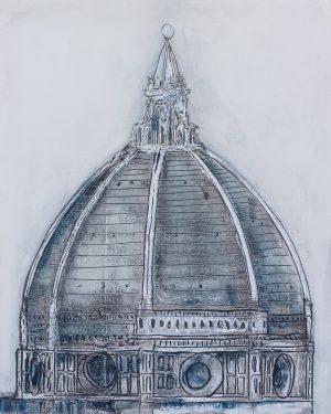 Duomo d'inverno 67 x 83