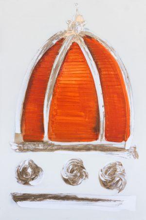 duomo oro arancio 80 x 120