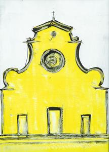 santo spirito firenze yellow