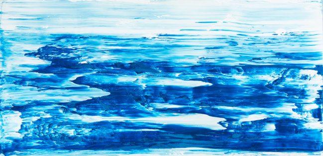 Mare blu verticale 212 x 104