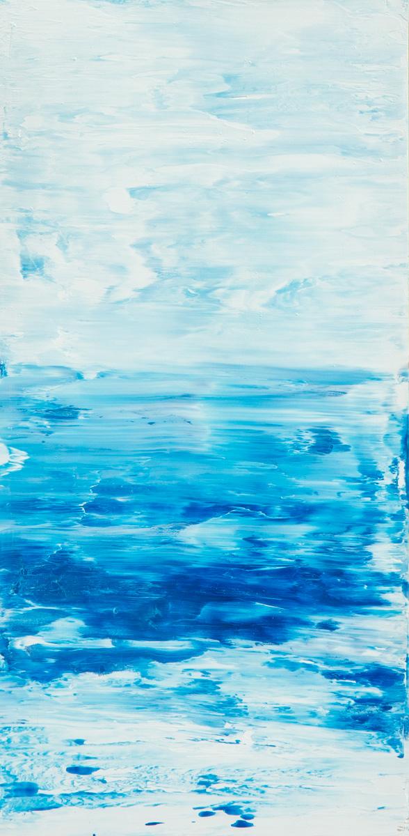 Mare blu verticale 104 x 212