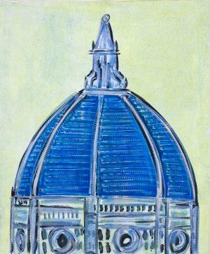 Duomo blu 110 x 140