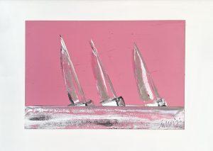 vele rosa 70 x 50