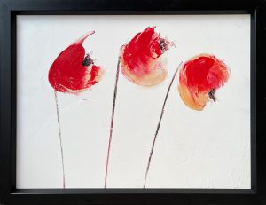 summer poppies 60 x 45 cc 800€