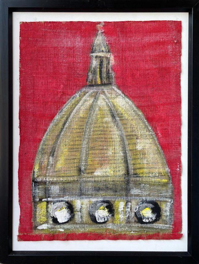 Duomo Brunelleschi on canvas 1