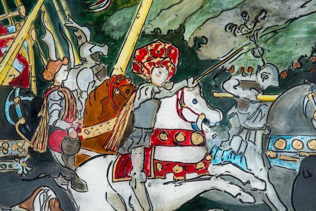 Battaglia di San Romano - National Gallery 3