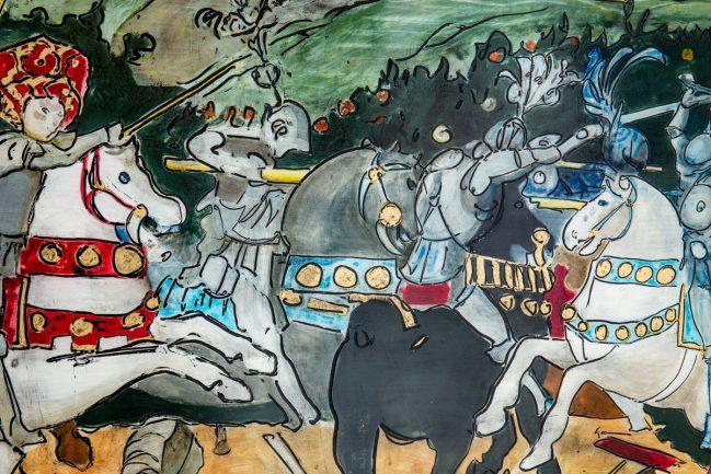 Battaglia di San Romano - National Gallery 2