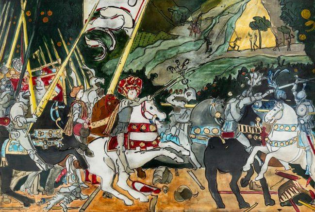 Battaglia di San Romano - National Gallery 1