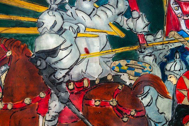 Battaglia di San Romano - Louvre 4