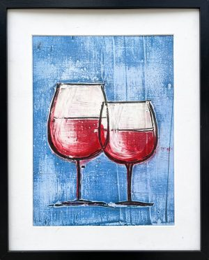 red wine chalices