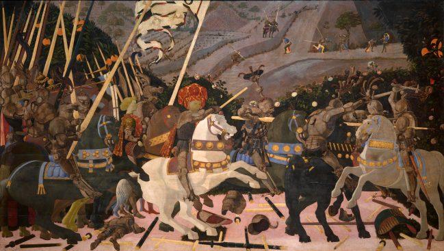 Battaglia di San Romano - National Gallery 4