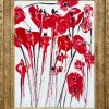 Red poppies bouquet 4