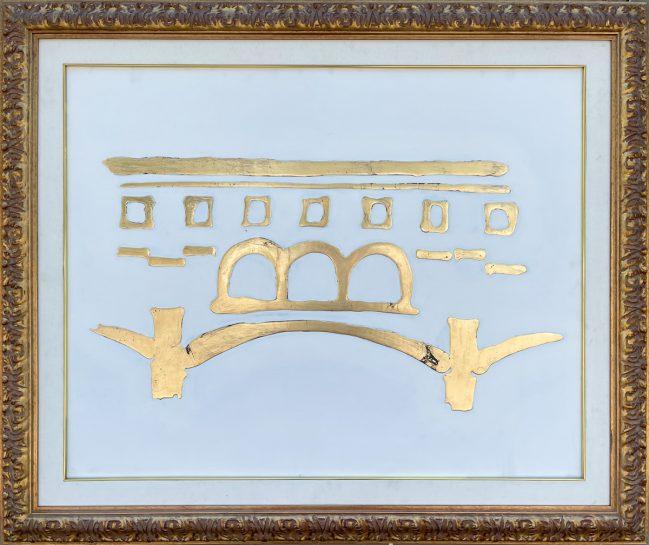 Ponte Vecchio Firenze Oro 1