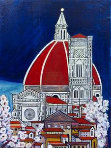 Duomo olio 90 x 121