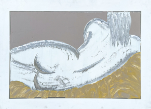nudo donna distesa 90 x 122 3